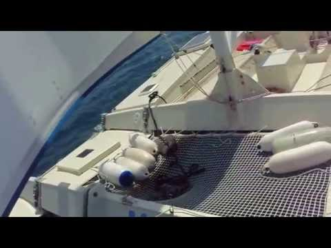Tiki 30 Wharram - Sailing around Sciacca Sicily
