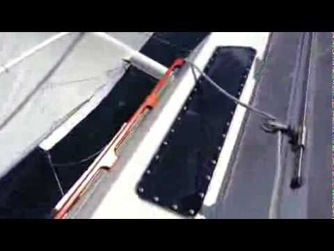 Tiki30- plavba na jednom plováku (don't capsize)