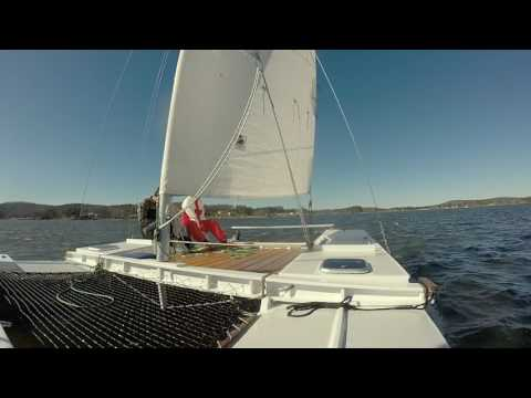 Sailing Fast on my Tiki 21