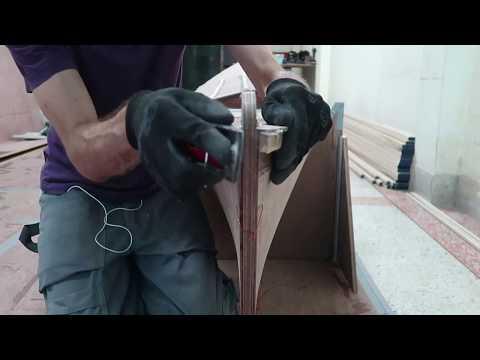 Removing excess of deck panels - Wharram Hitia 14