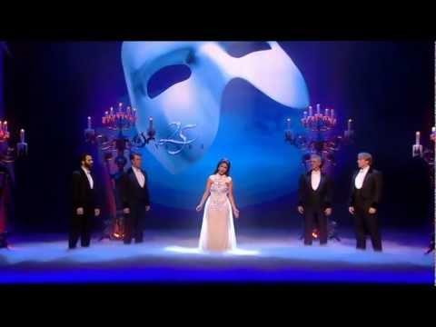 Nicole Scherzinger Phantom Of The Opera Royal Variety Performance.