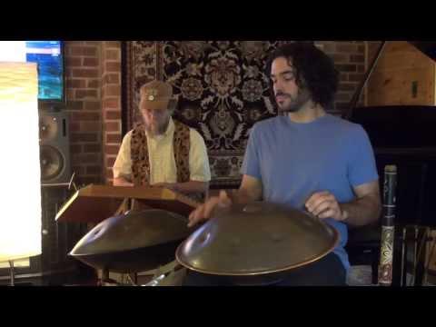 Julia Delaney - Irish Reel with Fiddle, Dulcimer, Didgeridoo, Whistle, & Hang Drum