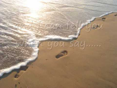 Leona Lewis - Footprints in the Sand Lyrics