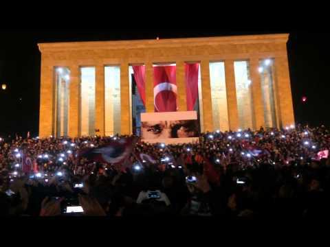 24-25 Nisan Çanakkale 100. Yıl Anıtkabir Etkinliği