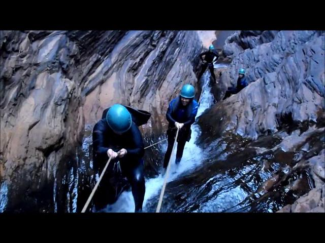 Karajini Canyoning Day - Adventurous Women Reef n Rock Tour 2012