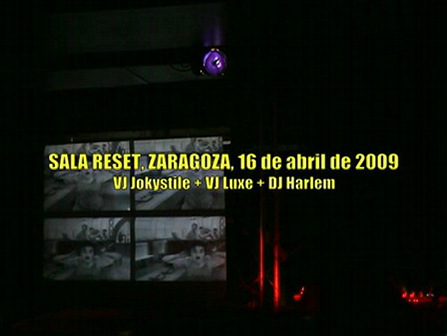 Veejing session 1.Reset Club. Zaragoza, Spain.