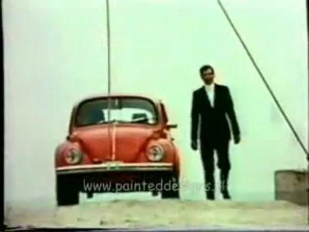 """70""""S vw beetle 廣告"""
