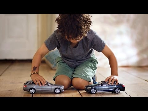 Mercedes-Benz TV: The uncrashable Toy Cars.