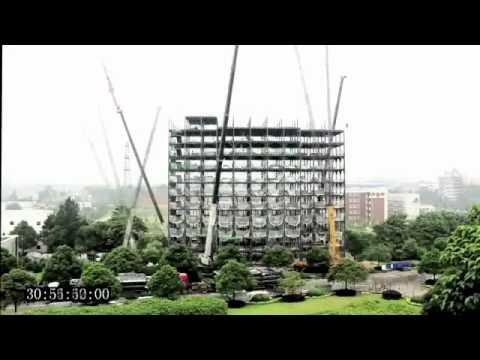 In China bouwen ze een hotel in 6 dagen...