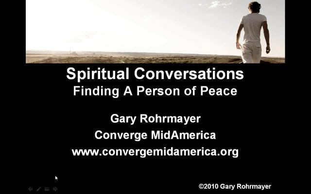 Finding a Person of Peace Webinar