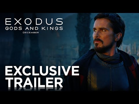 Exodus: Gods and Kings   Official Trailer [HD]   20th Century FOX