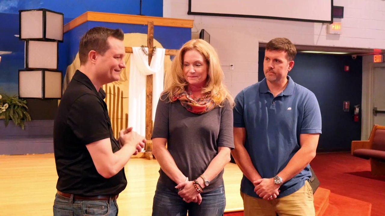 Steve Byrd and Kelly Kelsey Baptism! (8-14-14)