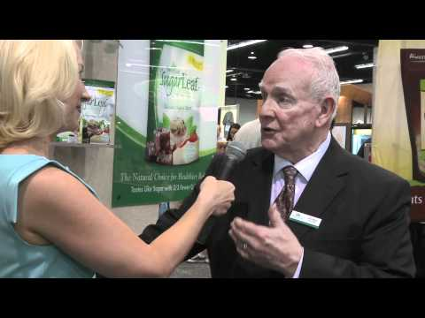 SweetLeaf Stevia at the Natural Products expo west