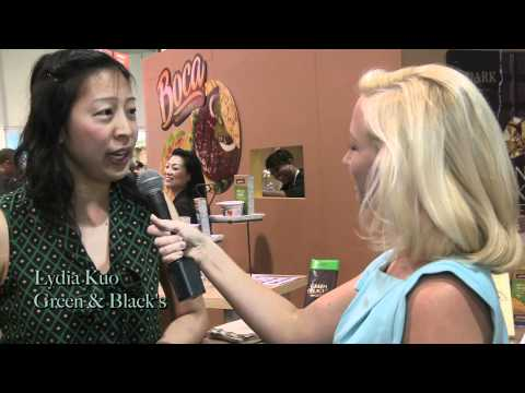 Green & Black's Organic Chocolate at the Natural Products Expo West