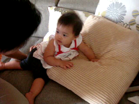 Baby Iris at 11 months.....