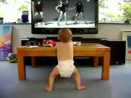 What is your baby learn from t.v.?