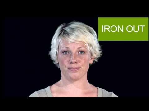 English Pronunciation - IRON OUT