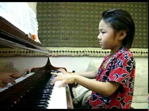 Piano หนูน้อยวัย 6 ขวบครึ่ง สุดซ่าส์