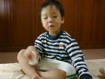 เรียนคำศัพท์ด้วยการร้องเพลง..น้องพีทเรียนภาษาจีนค้าบ