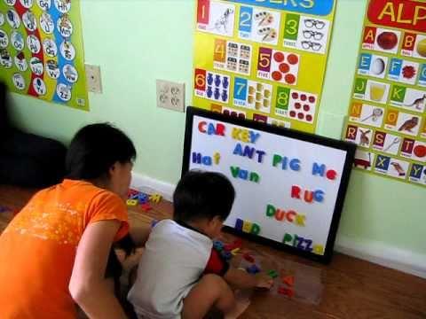 สอน sight wordใช้ Magnet แทน Flash card