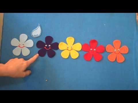 Preschool Songs Five Spring Flowers