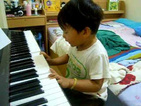 new piano with twinkle little star song
