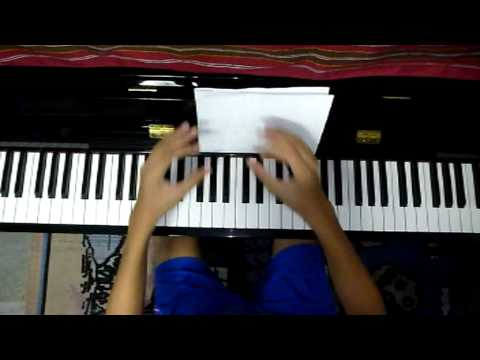 How to Play Piano - TwinkleTwinkle Little Star( Left Hand)Part2