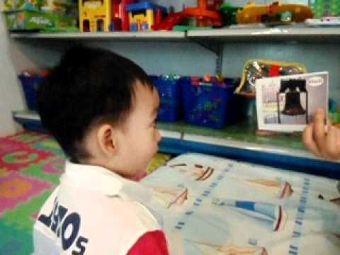 Bilingual Child (Wut's Vocabulary Card) - English /Thai