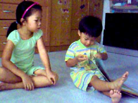 Sis & Bro want to read a story.mp4