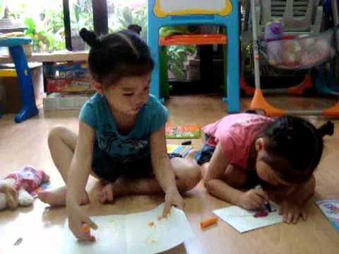 2 ปีในการสร้างเด็ก2ภาษา เรอิ-เลอา (ตอนแรก)