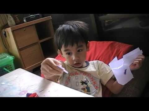 น้องโมกข์กับนกกระดาษ
