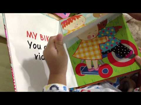 "C61 Bune is reading ""I can share"" 2.9 yr."