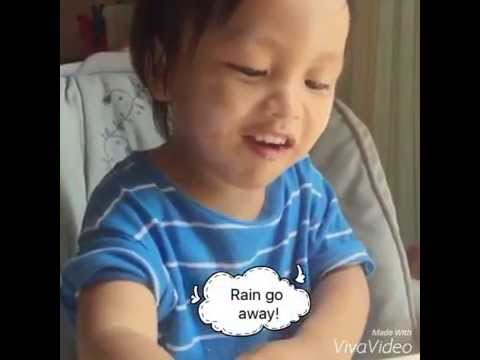 # JiHoo ร้องเพลงภาษาอังกฤษที่เค้าฟังมาตั้งแต่ยังพูดไม่ได้ ครับ 1.11 yrs