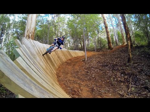 South West WA Mountain Biking - Pemberton, Relentless Blue Downhill MTB