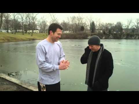 Rick Duncan Takes The Polar Bear Plunge Live On G1013