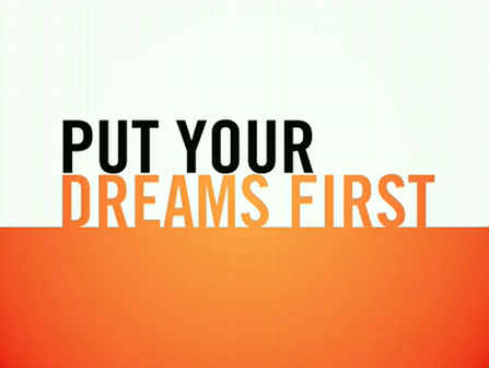 NEW trailer for my book Put Your Dreams First: Handle Your [entertianment] Business