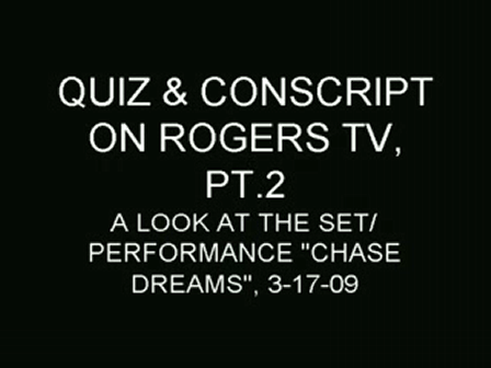 Rogers T.V Interview / Performance PT.2