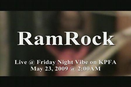 RAMROCK KPFA RADIOSHOW