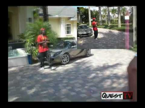 Dj Quest at Sho-zoe's one in a million video shoot part 1