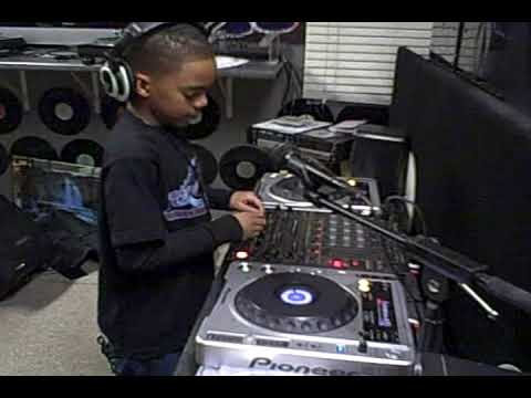 9 Year Old lil' DJ JF and his dad DJ JF