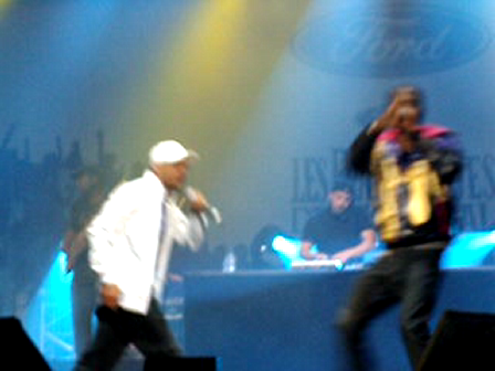 Front row at Hip-Hop shows 09