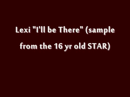 Lexi I'll Be There (Sample)