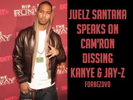 Juelz Santan Talks About Cam'ron Dissing Kanye