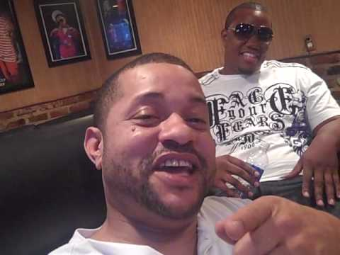 "Street Lotto and Jesse ""The Hitman"" int the studio w/ DeeJay Dana"