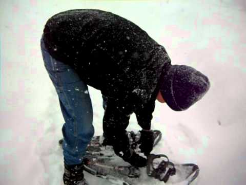 How My New Snowshoes Work