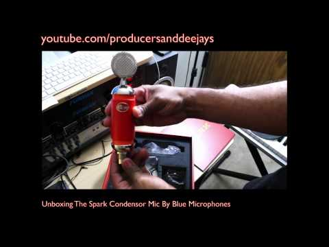 Unboxing The Spark Condensor Mic By Blue Microphones