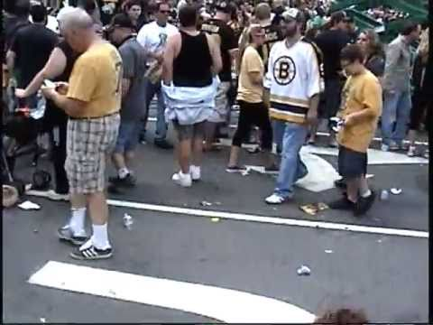 Boston Bruins  Parade  Celebration 2011--PART 2-Karl Ranks video.mpg