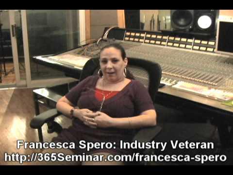 Francesca Spero's Music Biz 101: The Crash Course - 365Seminar.com - PROMO
