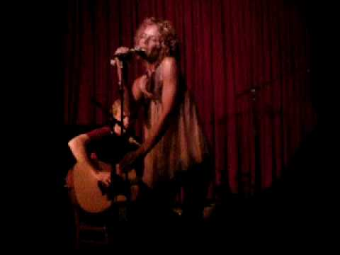 Billie Myers - I Hope You're Happy Now (Hotel Cafe 10-04-09)