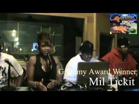 Grammy award winning Producer Mil Ticket interview with the Jay Davis Show.wmv